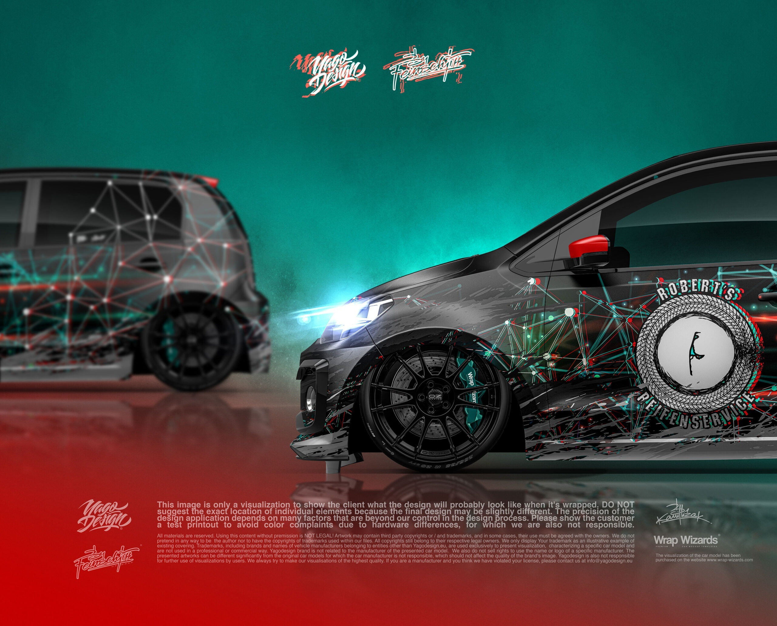 Car Wrapping VW UP