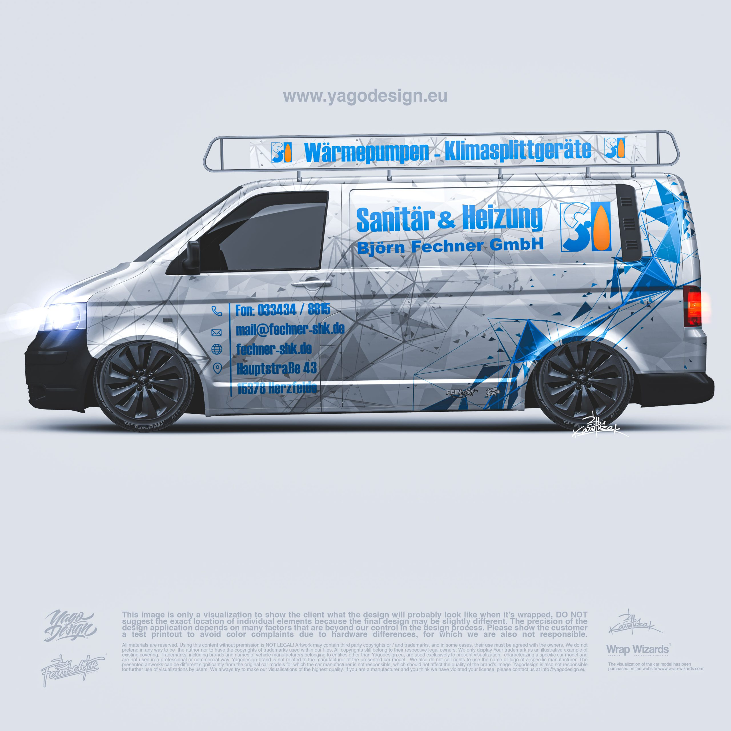 Car Wrapping Transporter